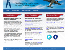 The TSA Choice Web Design